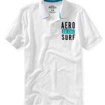 Aeropostale Mens Aero Surf Rugby Polo Shirt Photo