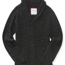 Aeropostale Mens Cable-Knit Shawl Collar Cardigan Photo