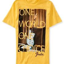 Aeropostale Mens Fender One World Graphic T Shirt Photo