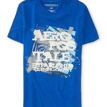 Aeropostale Mens Graffiti Signature Graphic T Shirt Photo