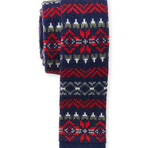 Aeropostale Mens Knit Holiday Necktie 468 Classic Photo