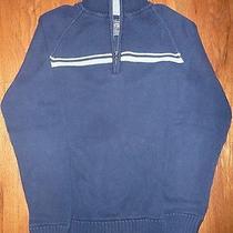 Aeropostale Mens Navy Blue Sweater 100% Cotton - Size S - Excellent Condition Photo
