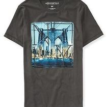 Aeropostale Mens Ny Bridge Graphic T Shirt Photo