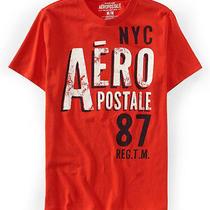 Aeropostale Mens Nyc 87 Graphic T-Shirt Photo
