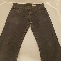 Aeropostale Mens Slim Straight Leg Dark Blue Jeans Size 28 X 30 Preowned  Photo