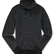 Aeropostale Mens Snorkel Hoodie Sweatshirt Black Large Photo