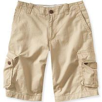 Aeropostale Mens Solid Cargo Shorts Photo