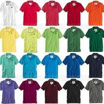 Aeropostale Mens Solid Polo Shirt Photo