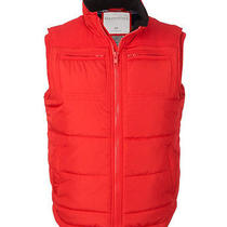 Aeropostale Mens Solid Puffer Vest 629 Xs Photo