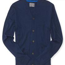 Aeropostale Mens Solid Uniform Cardigan Photo