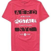 Aeropostale Mens Stacked Aero Graphic T Shirt Photo