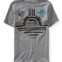 Aeropostale Mens Tribal Sunrise Graphic T Shirt Photo