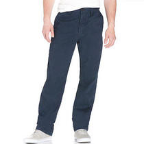Aeropostale Mens Uniform Flat-Front Pants Photo