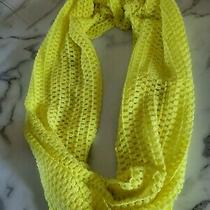 Aeropostale Neon Yellow Infinity Scarf Photo