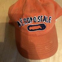 Aeropostale Nu-Fit Distressed Orange Hat L/xl Photo