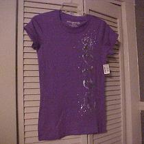Aeropostale Nwt Purple Short Sleeve  Size Medium  Name on Front   Photo