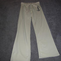 Aeropostale Off White Drawstring Sweatpants Size Small Photo