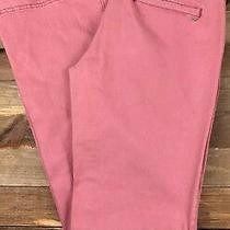 Aeropostale Pink Khaki Chino Pants Size 2 (30x32) Low Rise Salmon Lp Photo