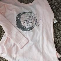 Aeropostale Pink Moon Sun Junior Med L/s With Cuffs  Brand New W/ Tags & Bag Photo