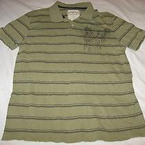 Aeropostale Polo Shirtvintage Stylegreenmen's Polo Shirtsize Large Photo