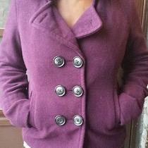 Aeropostale Purple Wool Peacoat Photo