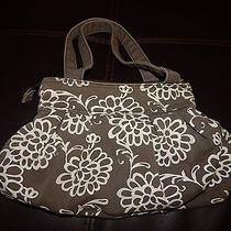 Aeropostale  Purse With White Floral Design Photo