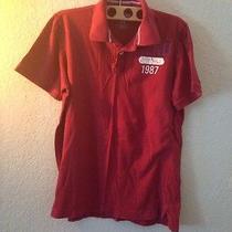 Aeropostale Red Polo Shirt Photo