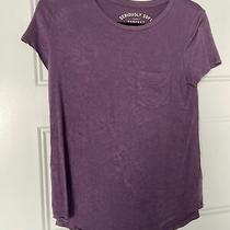 Aeropostale Seriously Soft Perfect Crew T-Shirt Purple Size S Photo