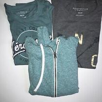 Aeropostale Shirts and Zip Up Sweatshirt Lot Size Xs Photo