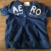 Aeropostale Short Sleeve Hoodie Large Photo
