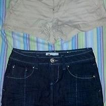 Aeropostale Shorts Size 1/2 & Jean Mini Skirt Size 1 Photo
