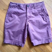 Aeropostale Shorts Size 29 Burgundy Color Combine Shipping Available Photo