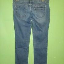 Aeropostale Size 1 2 Blue Denim Jeans Straight Leg Photo