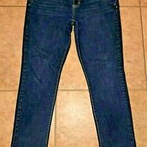 Aeropostale Size 16 Regular Bayla Skinny Stretch Denim Jeans Pants  Photo