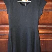 Aeropostale Size Large Black Short Sleeve Dress Photo