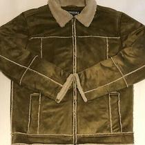 Aeropostale Soft Brown Mens Jacket Sz S Photo