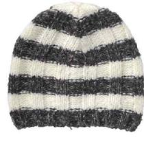 Aeropostale Striped  Cable Knit Beanie Hat Nwt  Photo