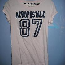 Aeropostale Super Cute T-Shirt Juniors Medium Like New  Photo