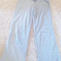 Aeropostale Sweat Pants Gray Sz M/m Cotton/polyester 36 Inch Waist 31 Inseam Photo