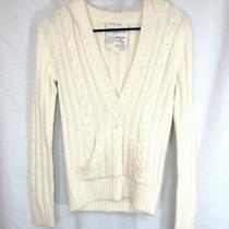 Aeropostale  Sweater Sz S Petite Pull Over Long Sleeve Hood Front Pocket Casual Photo