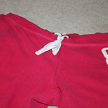 Aeropostale Sweatpants Size Large Pink Photo