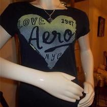 Aeropostale T Shirt Large and Necklace Photo