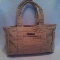 Aeropostale Tote Bag Beige Fabric/ Corduroy  Photo