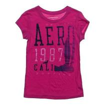 Aeropostale Trendy T-Shirt Size Jr 7 Photo