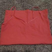 Aeropostale v-Neck Cami Coral Size Large Photo