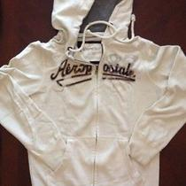 Aeropostale White Wooded Jacket Men Size Xs Cotton Polyester and Solid  Photo