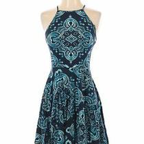 Aeropostale Women Blue Casual Dress S Photo