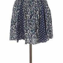 Aeropostale Women Blue Casual Skirt M Photo