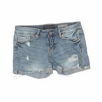Aeropostale Women Blue Denim Shorts 00 Photo