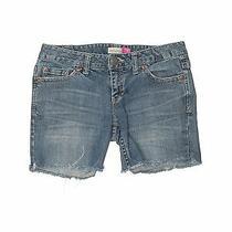 Aeropostale Women Blue Denim Shorts 5 Photo